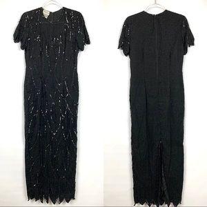 Vintage STENAY Beaded Evening/ Cocktail Dress